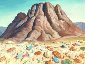 Image result for Israel camps at Mount Sinai