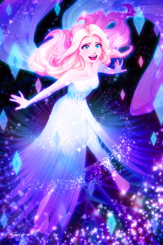 Show Yourself Frozen 2 In 2020 Frozen Disney Movie Disney Princess Drawings Disney Princess Anime