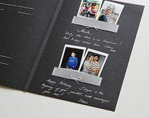 Black Album Guest Book Black Pages Instax Picture Album Polaroid