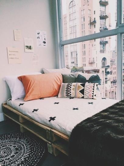 Sofá/cama de pallet