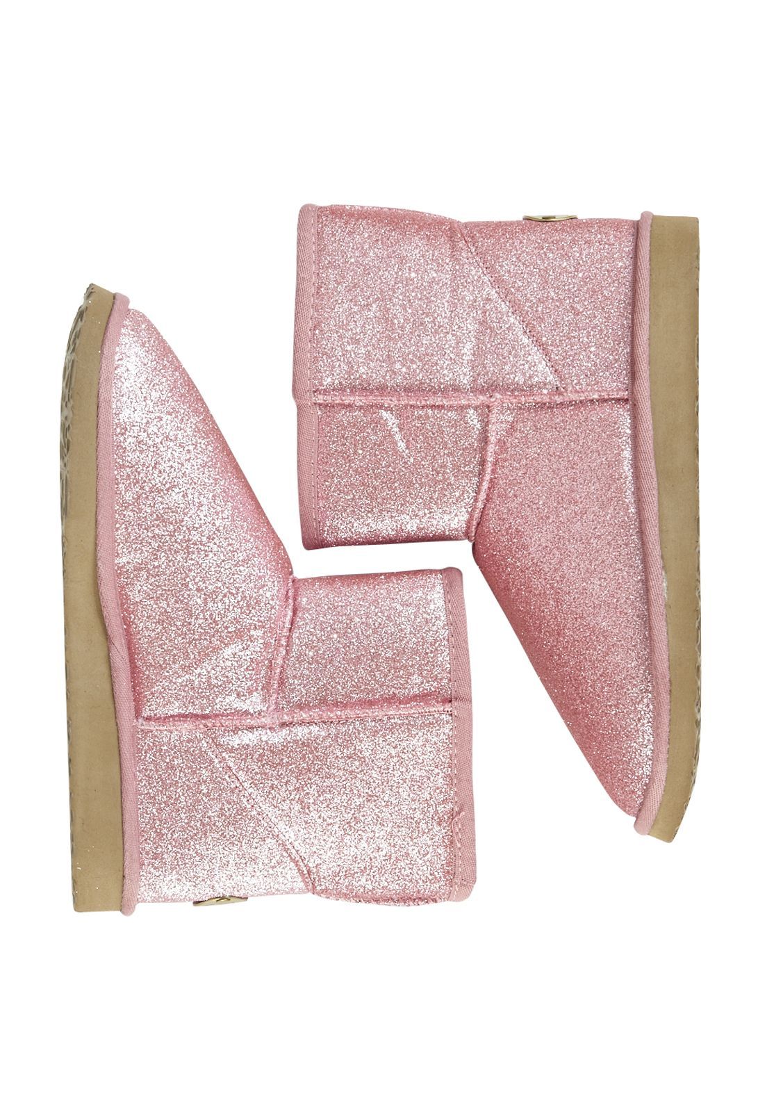 031b7e457a I definitely need a pair of these Pink Glitter Homeboot from Peter  Alexander Sleepwear