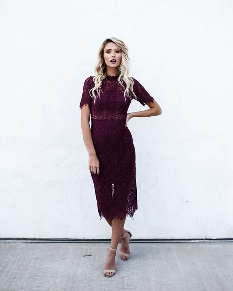48eff6444b Solange Lace Midi Dress | Vici Collection | Shopaholic. | Lace midi ...