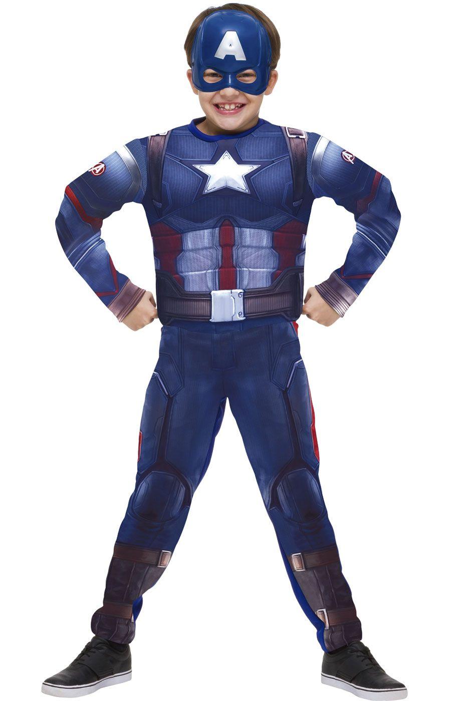 c32e6736f20 fantasia capitão américa infantil