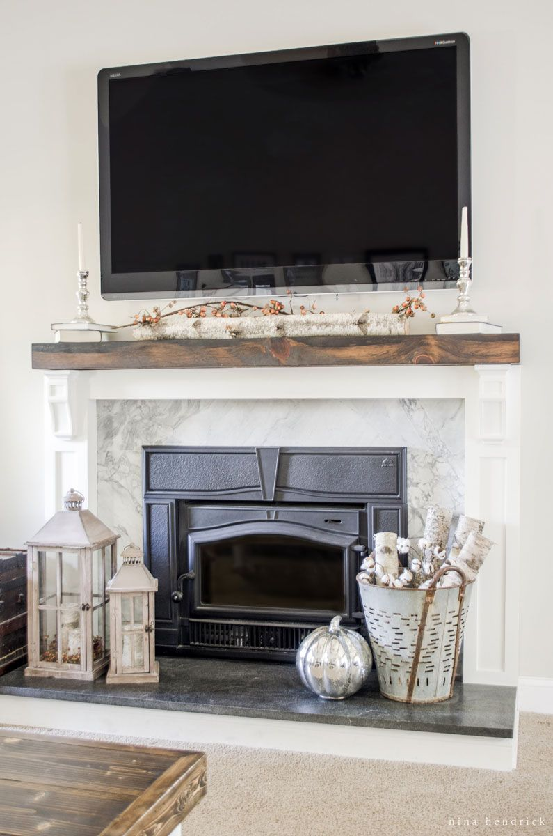 Natural & Simple Fall Home Tour with Farmhouse and Rustic