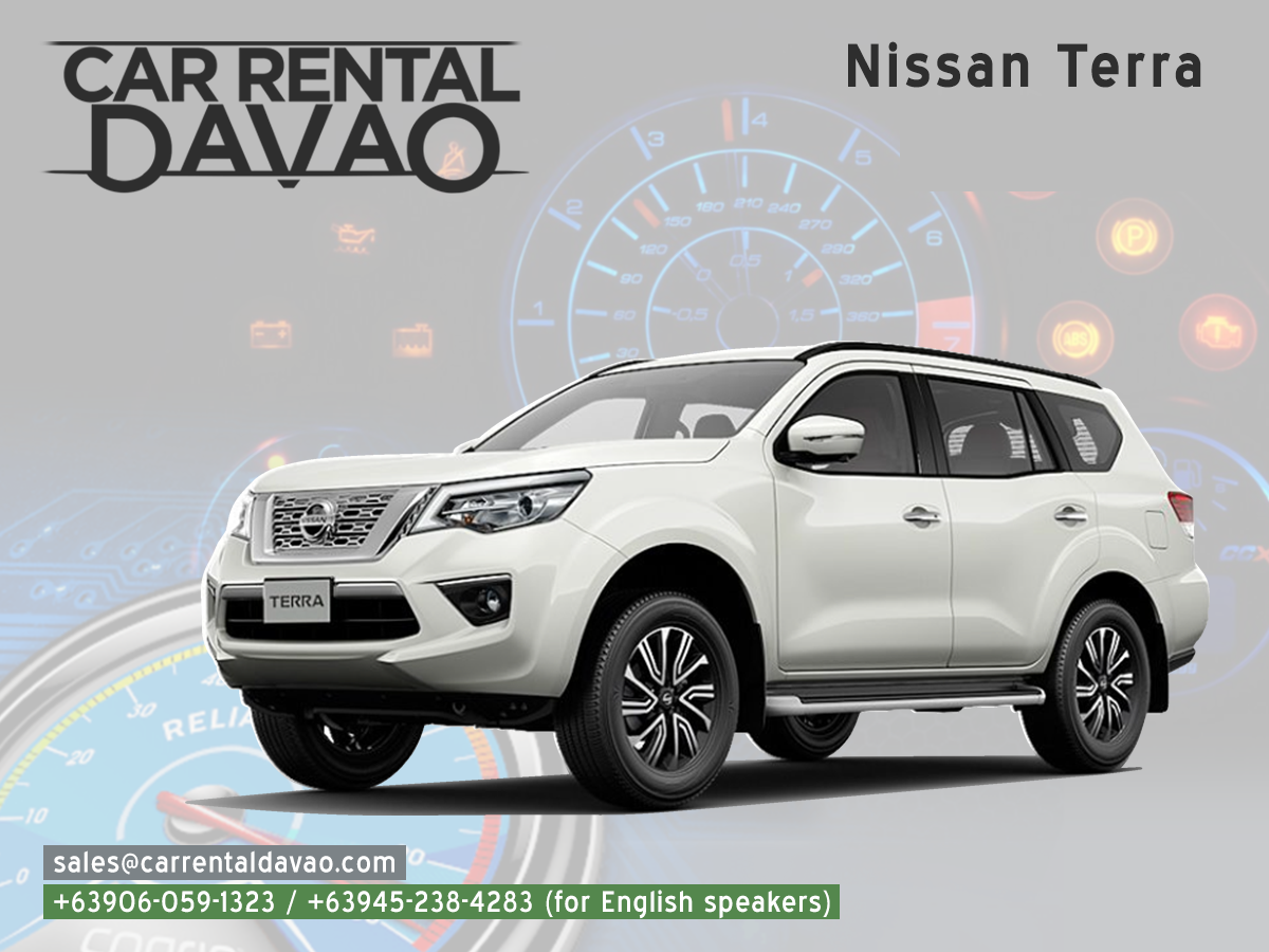 Have A Terra Fic Trip With Our Nissan Terra Now Available Here At Car Rental Davao To Inquire About This Unit Choose Below 6 In 2020 Car Rental Rental Nissan
