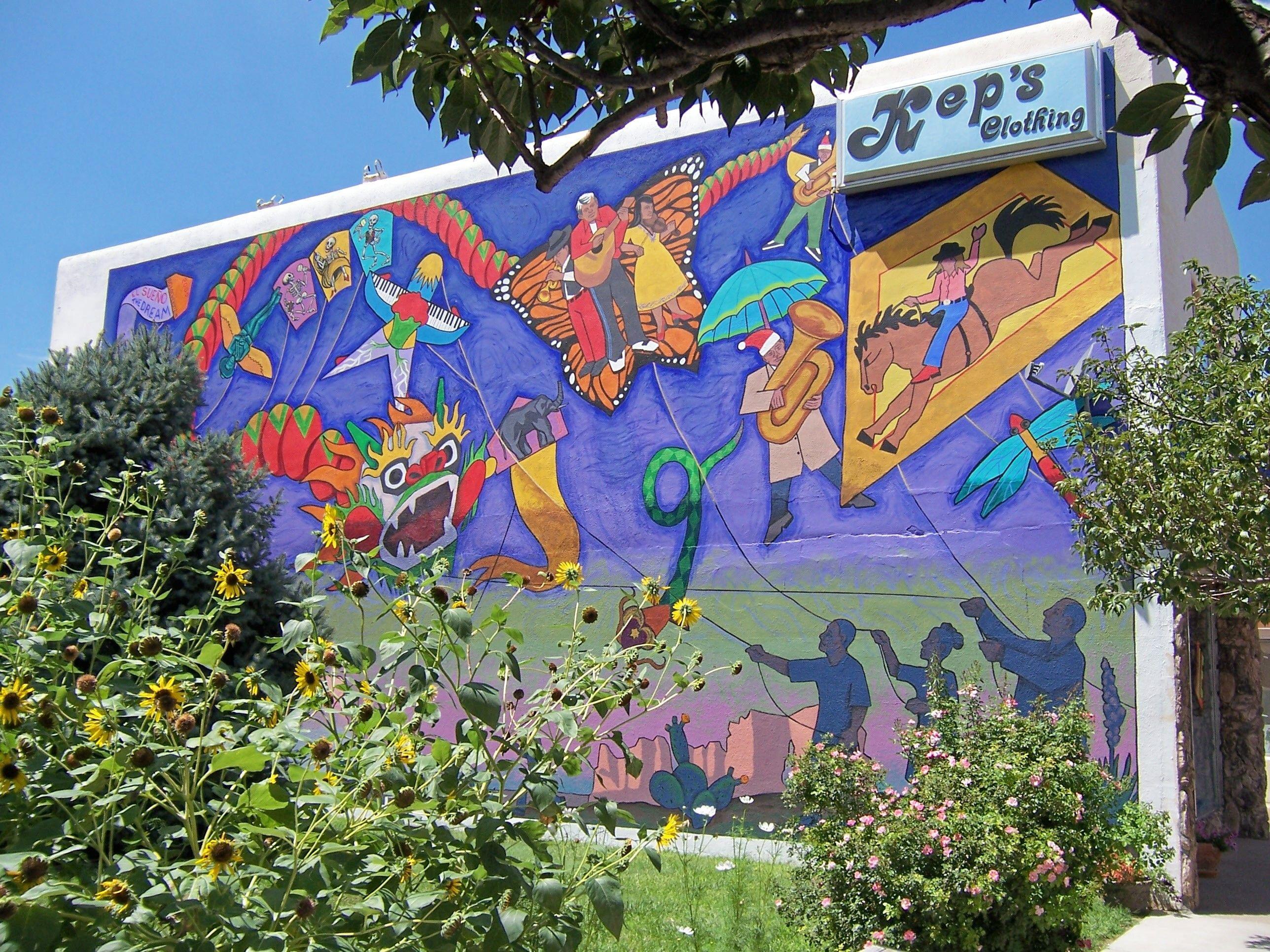 Kep S Mural Downtown Garden City Ks Garden City Downtown City