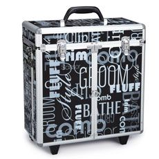 Grooming Tool Case With Wheels Tool Case Pet Grooming Tools Grooming Tools