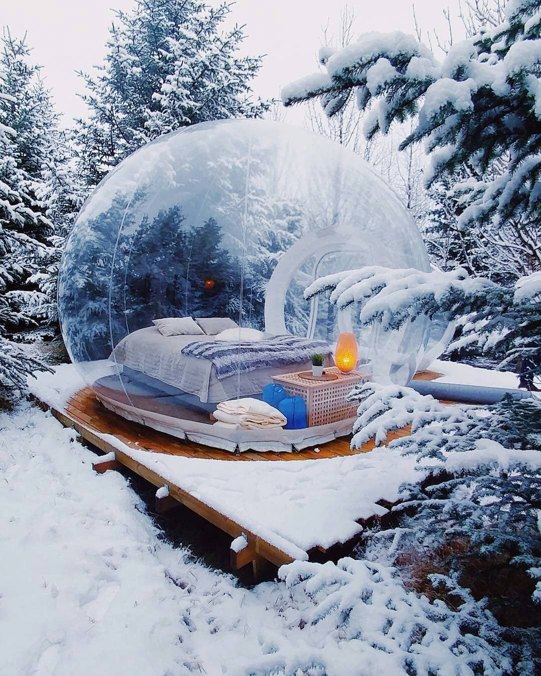 Bubble Hotel Iceland Slow Ig
