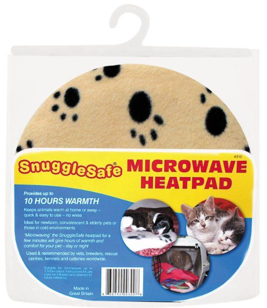 Snuggle Safe Pet Bed Microwave Heating Pad And Soothing Warmth Non Electrical