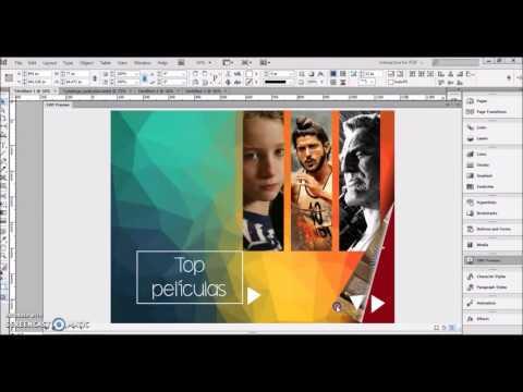 1353 Crear Un Pdf Interactivo En Indesign Youtube Tutoriales De Ilustrador Disenos De Unas Tutoriales