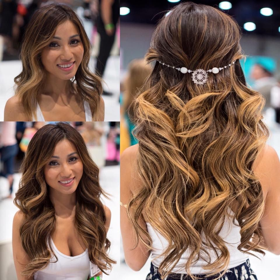 Gorgeous Before After Halocouture Hair Pinterest