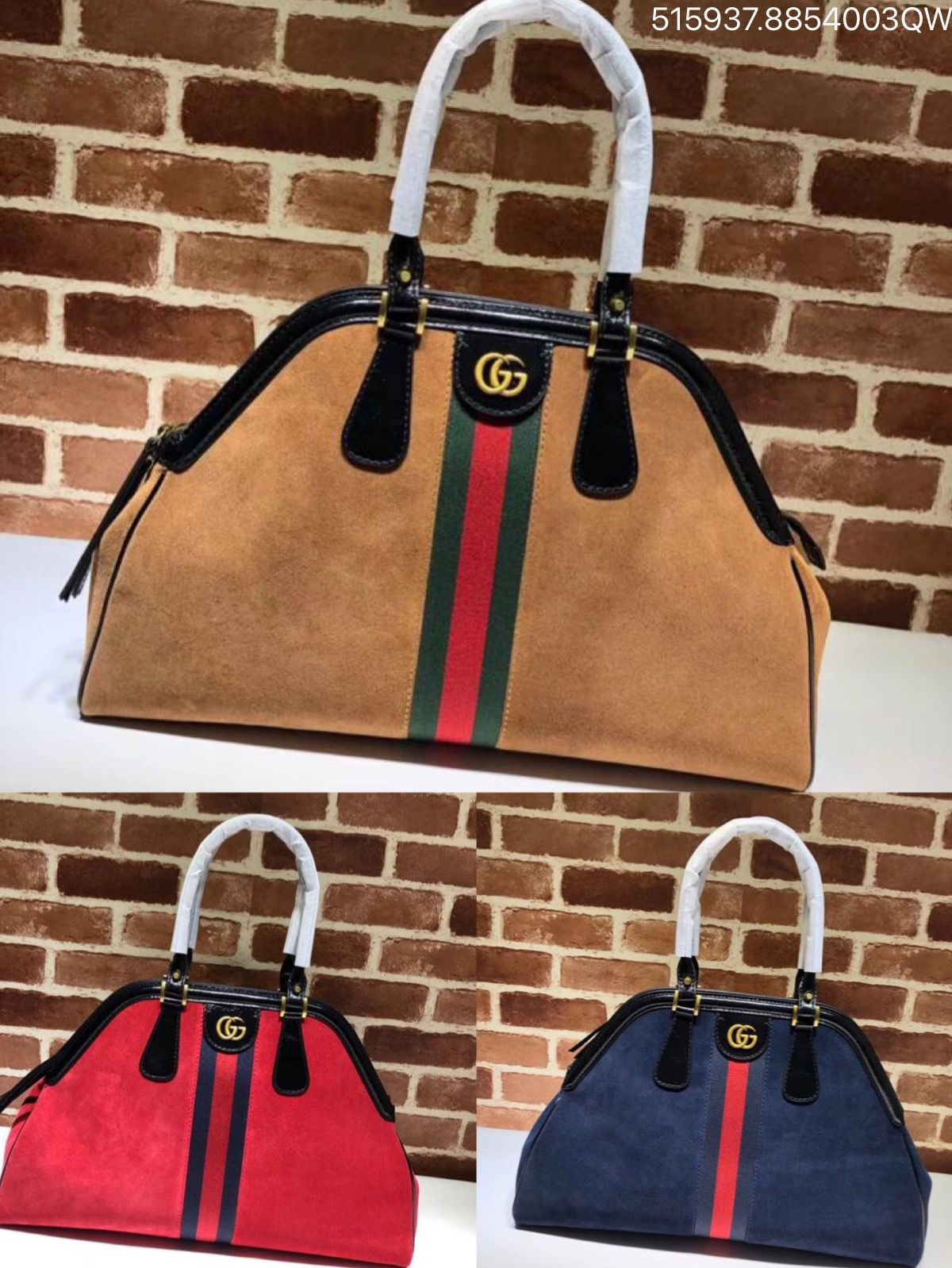 e73741deb6f Gucci rebelle large top handle tote bag suede totes 515937