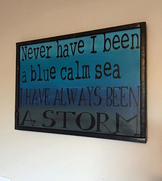 Always a Storm by WhimsEchols on Etsy