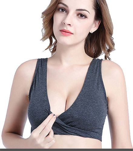 1c408c0841d6b Nursing Bra Sleep Top For Breastfeeding Maternity Wirefree Bra Cotton Plus  Size Price   12.99   Free Return on some sizes and colors