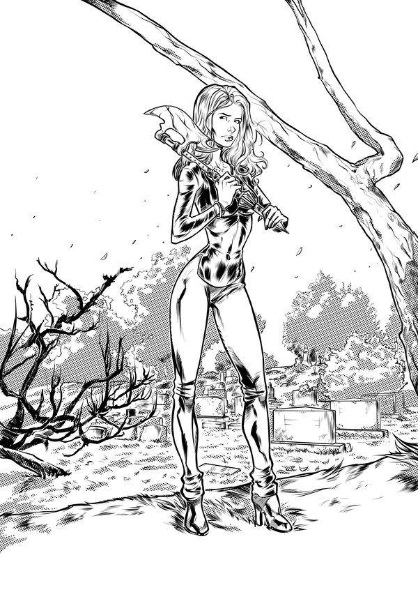 Deviantart Picks 10 07 2014 Tuesday Edition Buffy Vampire Images