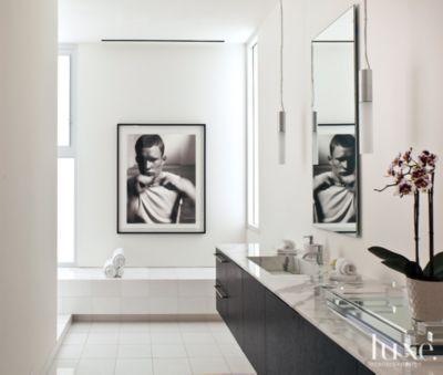 Modern Simple Master Bathroom