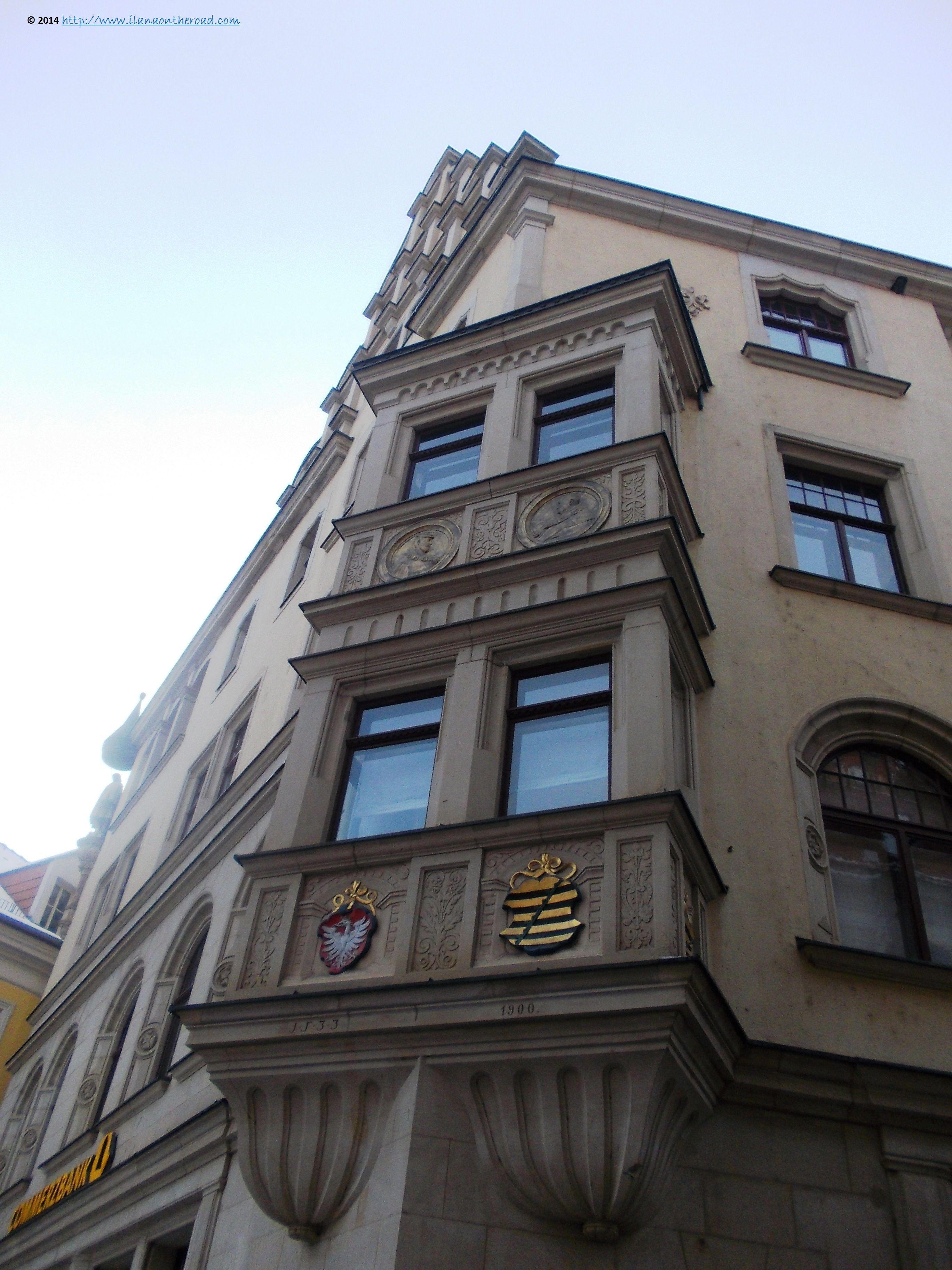 Commerzbank building, a historical architecture with a practical touch