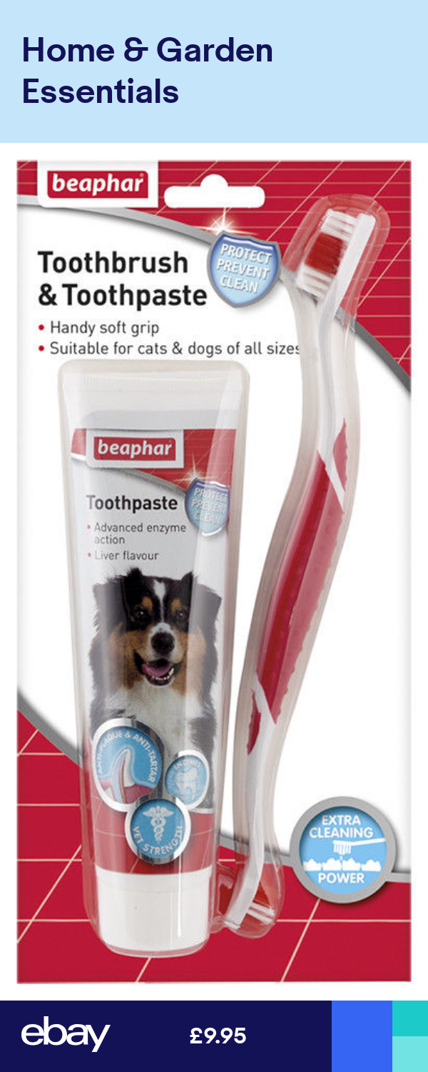 Beaphar Care Choose Dental Dogs Sticks ToothBrush