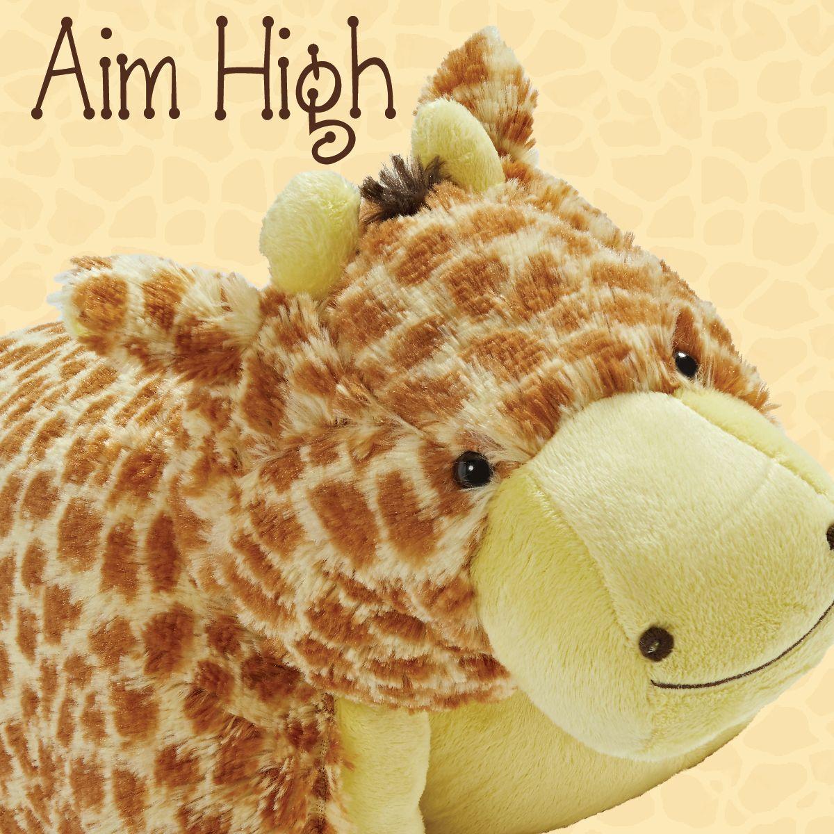jolly giraffe pillow pet animal