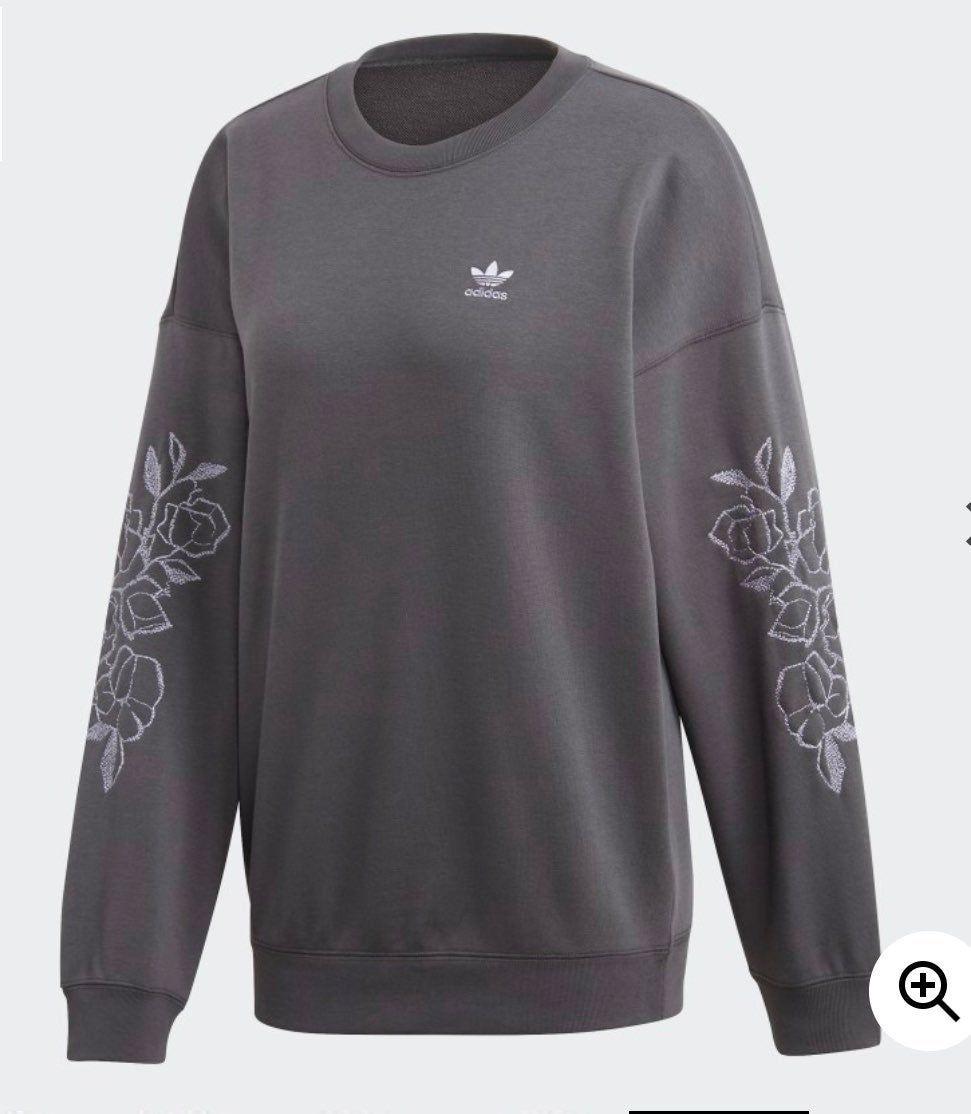 Adidas Sweatshirt On Mercari Sweatshirts Casual Sweatshirt Boyfriend Sweatshirts [ 1114 x 971 Pixel ]