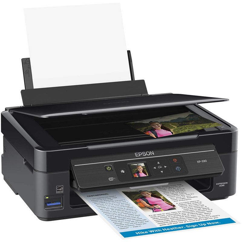 Epson Expression Home XP-330 Small-in-One Printer New Free Shipping