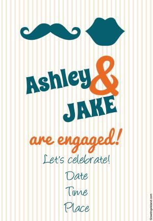 Printable Invites for Your Engagement Party That Are Completely - engagement party invitations free