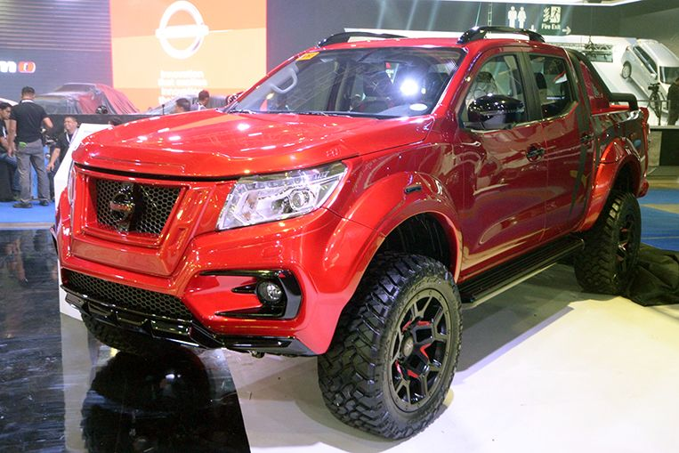 2018 Philippine International Motor Show Nissan Navarra Warrior X In 2020 Nissan Navara Nissan Nissan Titan Xd