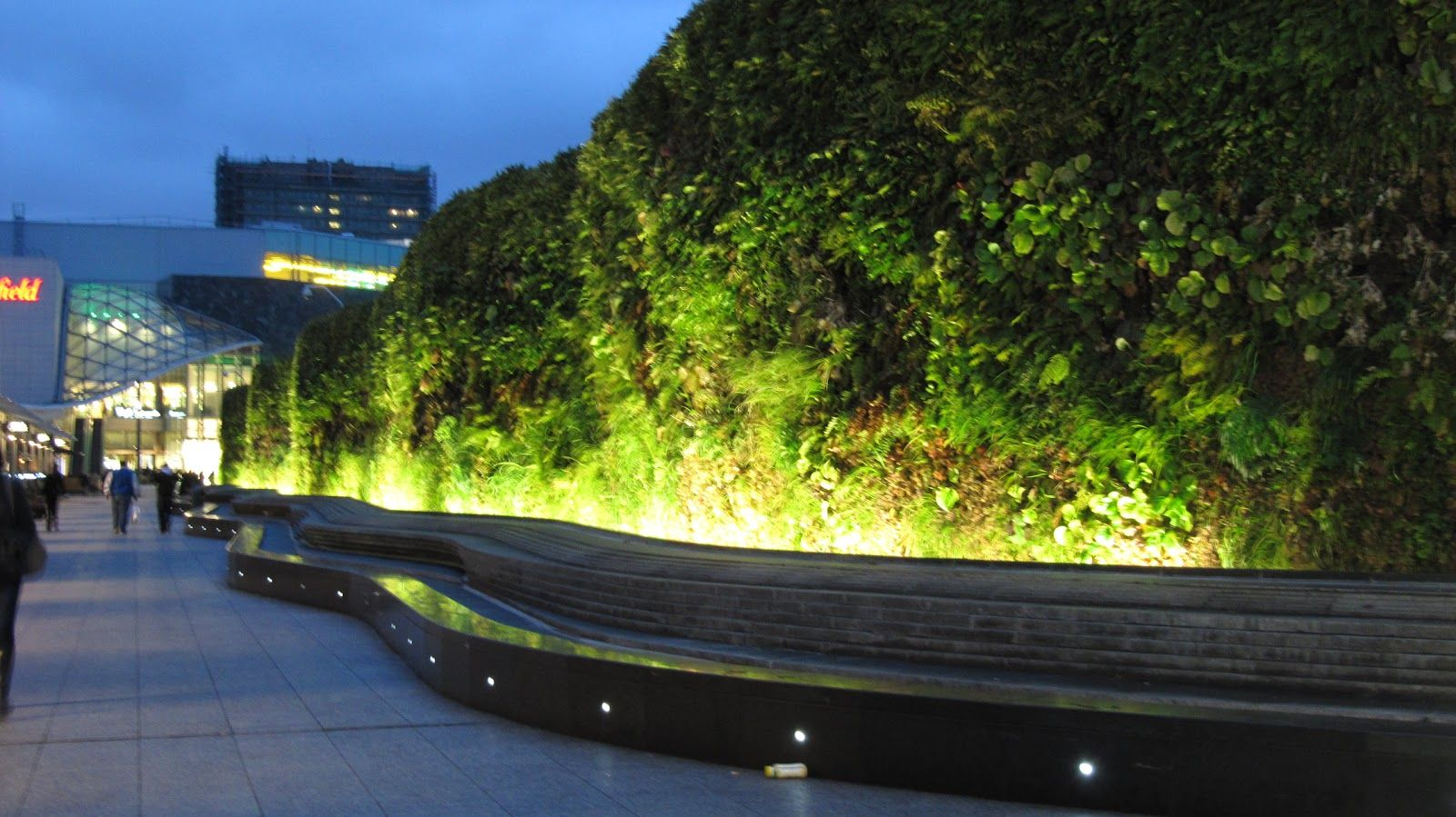 Lighting A Green Wall Google Search Small