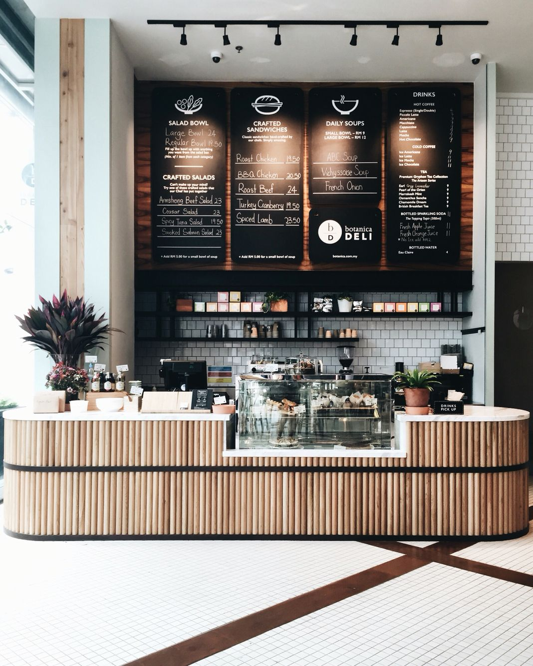 I Like This Counter Idea But Using Galvanized Roof Material Will Explain In 2020 Cafe Interior Design Coffee Shop Design Coffee Shop Decor