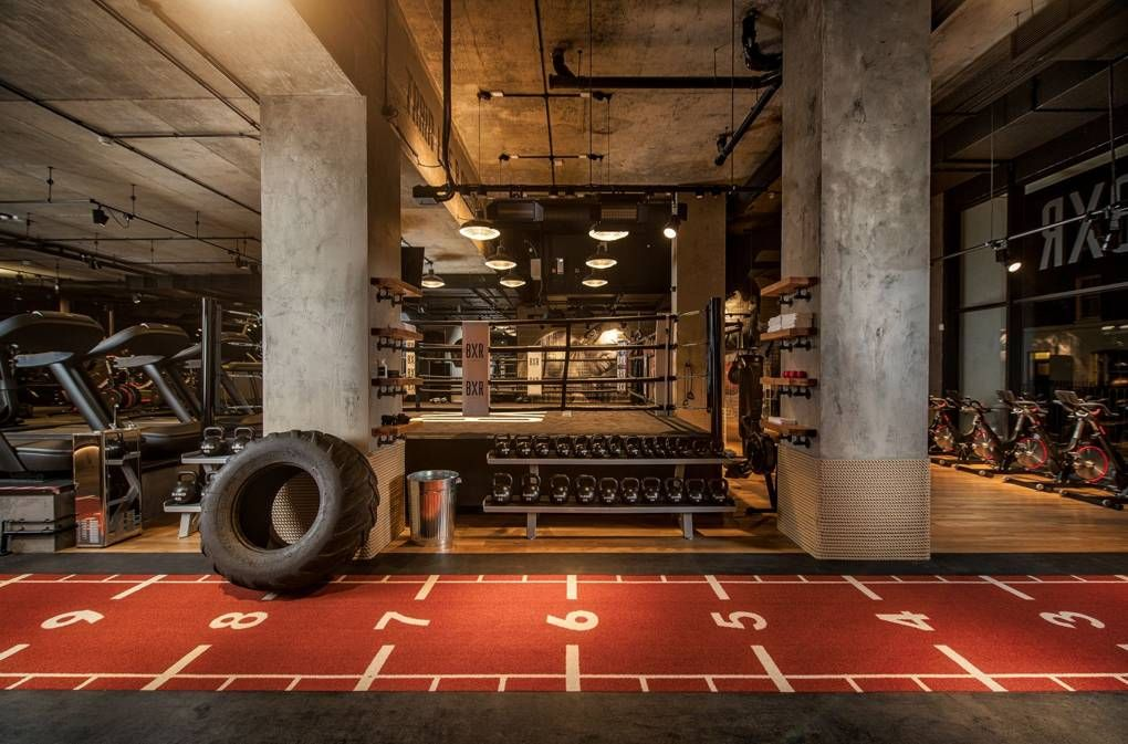 Anthony Joshua S Boxing Gym Is The Best Fight Club In Britain Gym Design Interior Gym Interior Fitness Design Gym