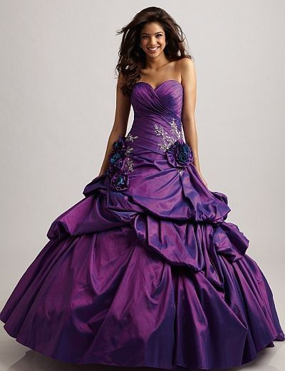 5ff0a4c0a21 Cheap Ball-Gown Sweetheart Hand-Made Flower Sleeveless Floor-length Taffeta  Prom Dresses Evening Dress