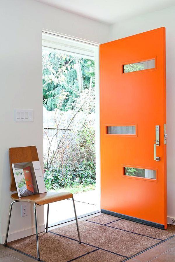 Midcentury Modern Front Door Modern Front Door With Wood Accents Mid