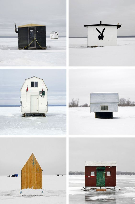 Canada's Ice Huts by Richard Johnson