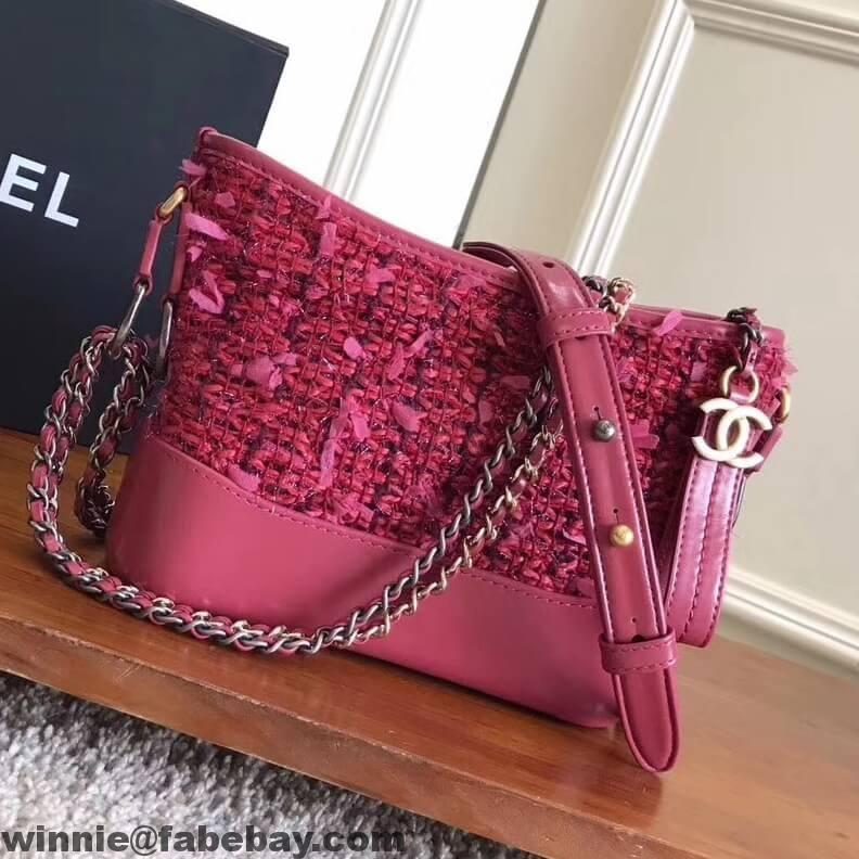 67f7188b5d8561 Chanel Tweed/Calfskin Gabrielle Small Hobo Bag 2017 | Chanel | Bags ...