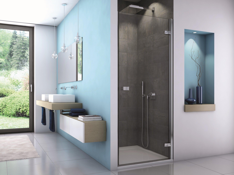Dusche Nischentür 70 x 200 cm Drehtür Nischentür