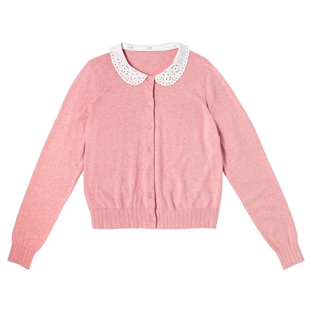 Broderie Collar Cardigan | Knitwear | CathKidston | Clothing ...