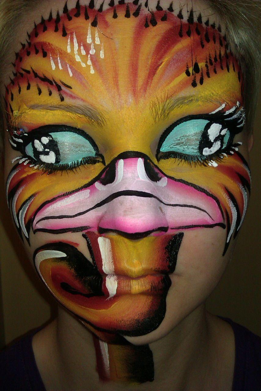 Carolina Mohringe Face painting stencils, Face painting