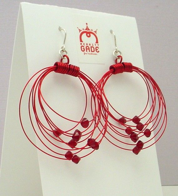 Red Orbits Earrings, $28 (Or get them in just about any other color!)