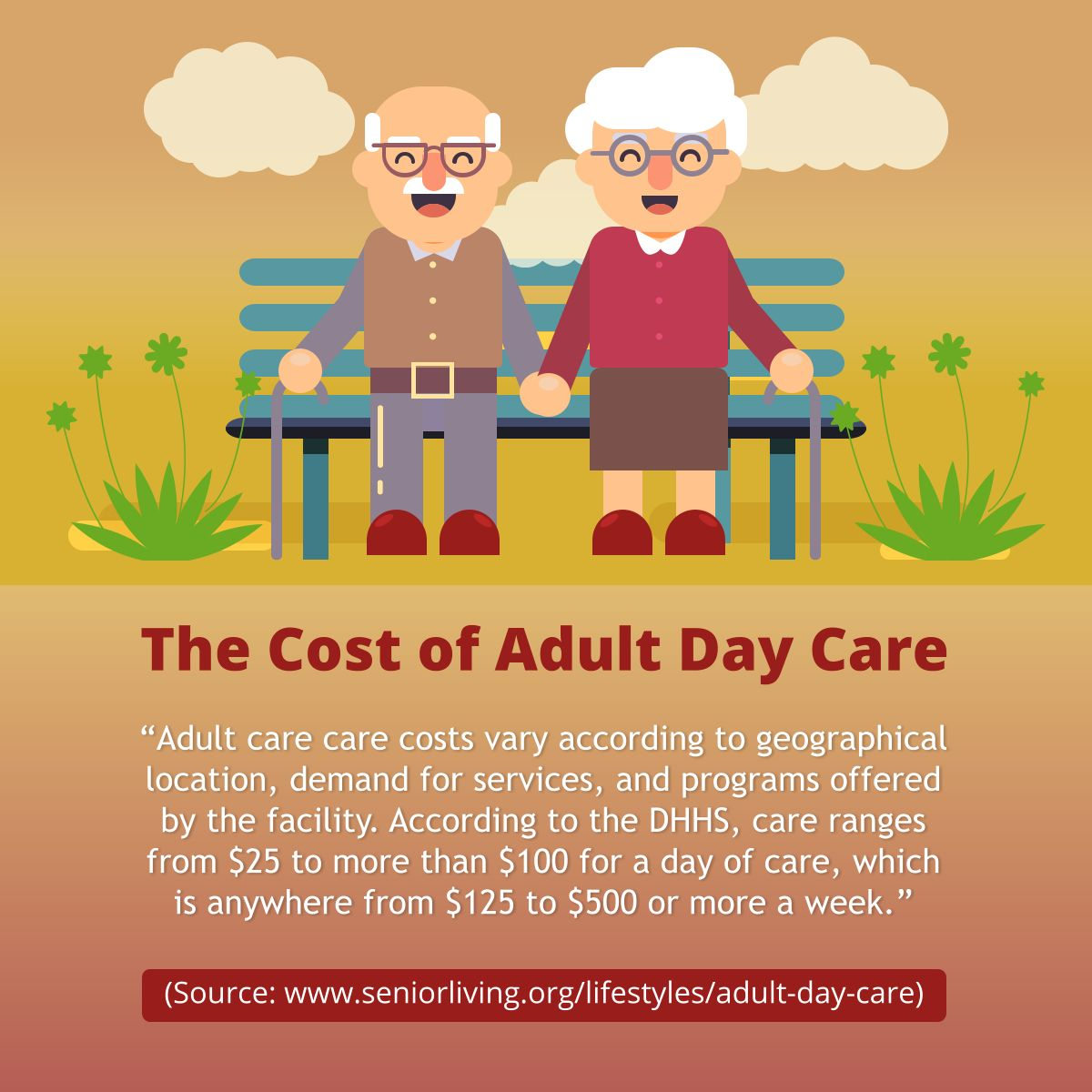 The Cost of Adult Day Care AdultDayCare