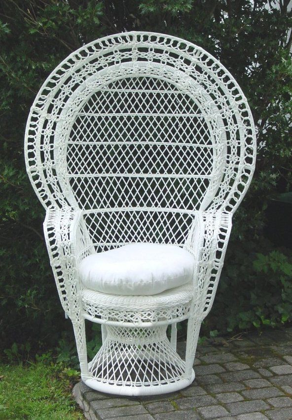 Wicker Furniture Peacock Chairs Wedding Chairs Bridal Baby Shower Bridal Shower Chair Baby Shower Chair Wicker Chair White wicker chairs for sale
