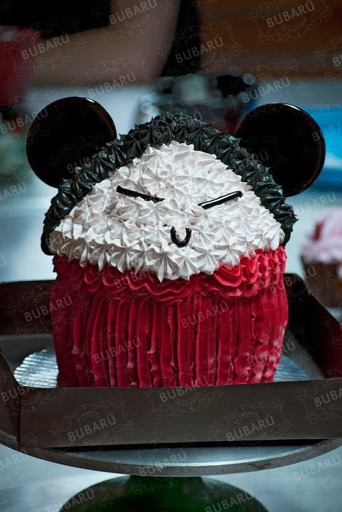 Pucca Character in Maniatiks Cake by Bubarú.