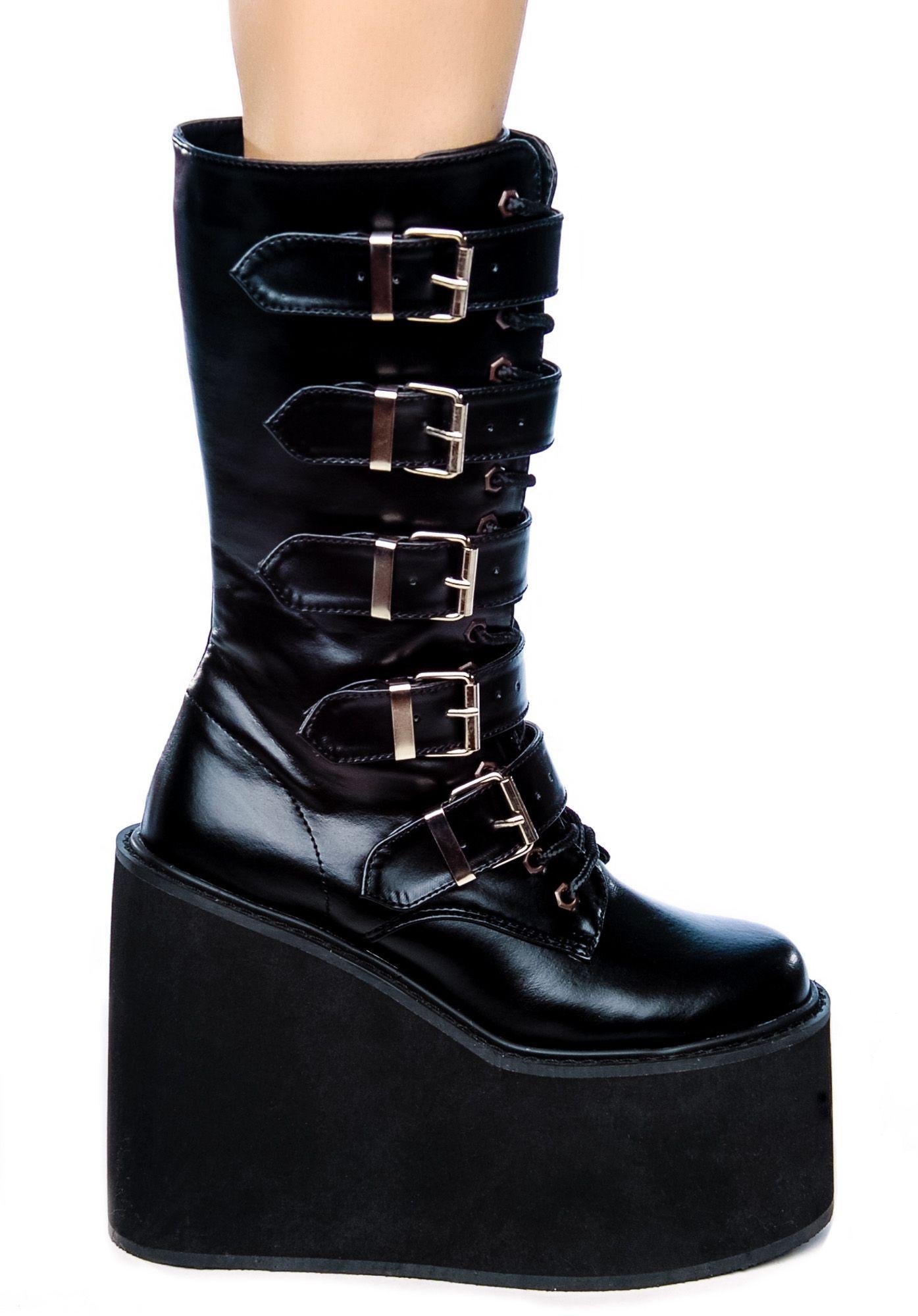 99f0863ccba Demonia Wicked Woodland Platform Goth Boots Fashion in 2018