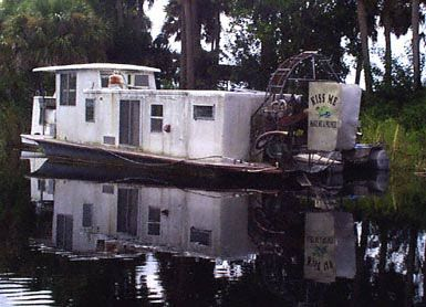 Image result for air boat house boat