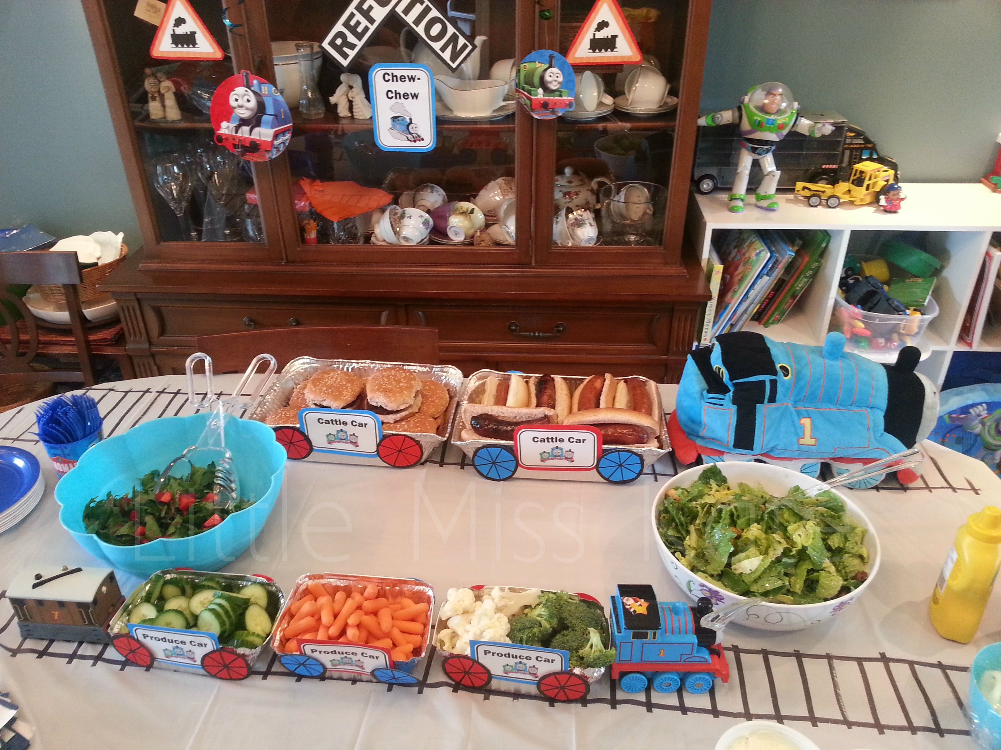 Kids Birthday Party Ideas Thomas The Train Party Ideas