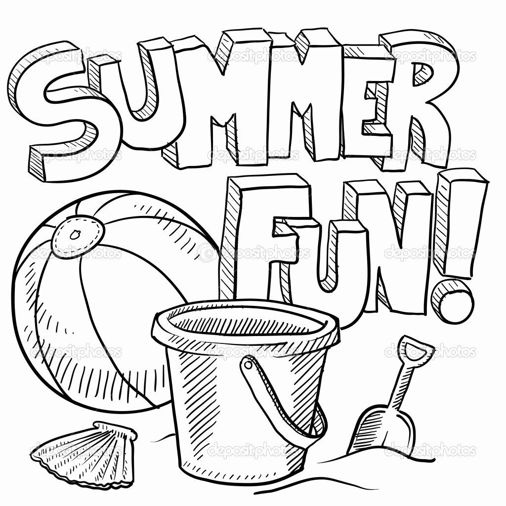 Free Summer Coloring Pages For Kids Azspringtrainingexperience