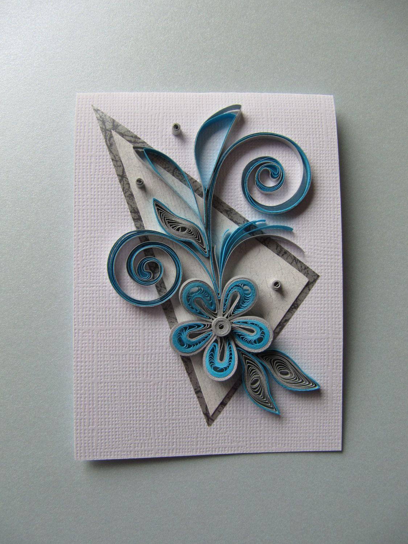 Set of 3 handmade mini greeting cards set of 3 note cards thank set of 3 handmade mini greeting cards by rudibelart on etsy kristyandbryce Gallery