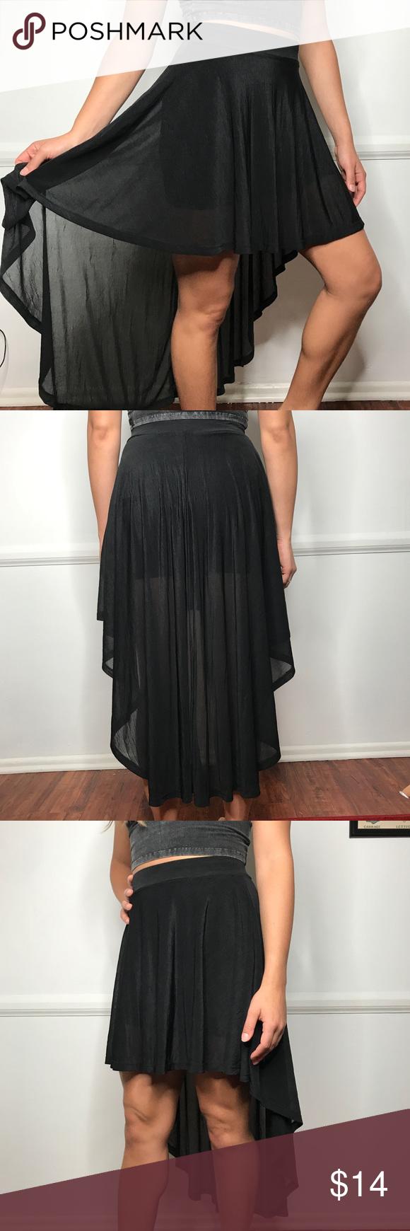 Short Skirt Black Las H M