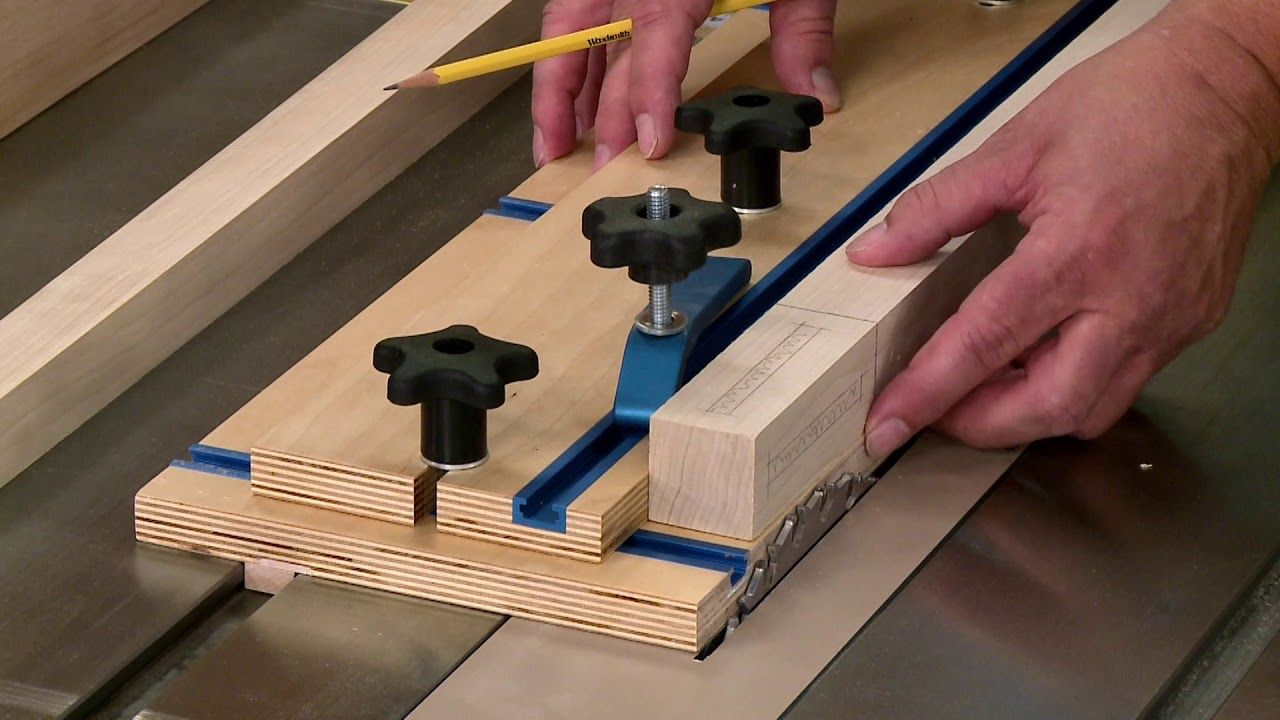 EasyToBuild Table Saw Taper Jig YouTube Table saw