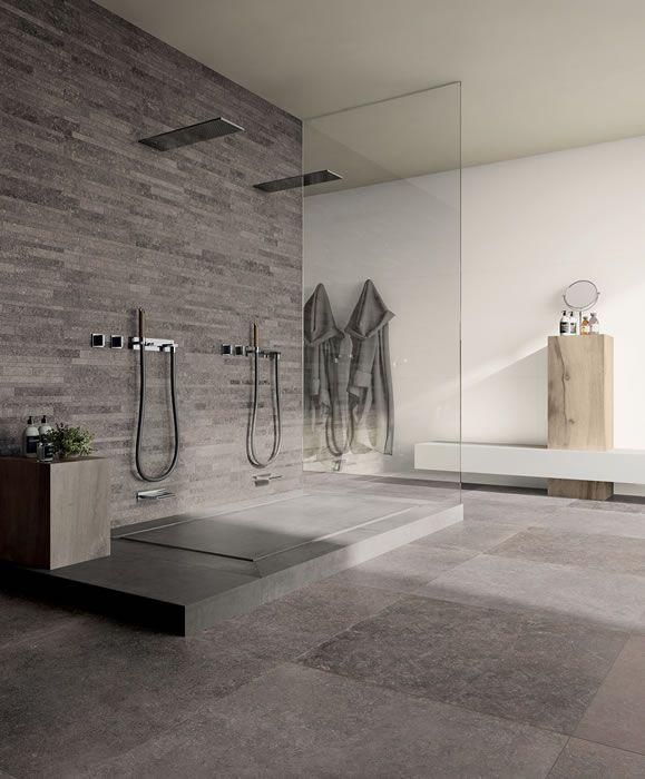 tegel badkamer antraciet vloer - Google zoeken | Ceci\'s Home ...