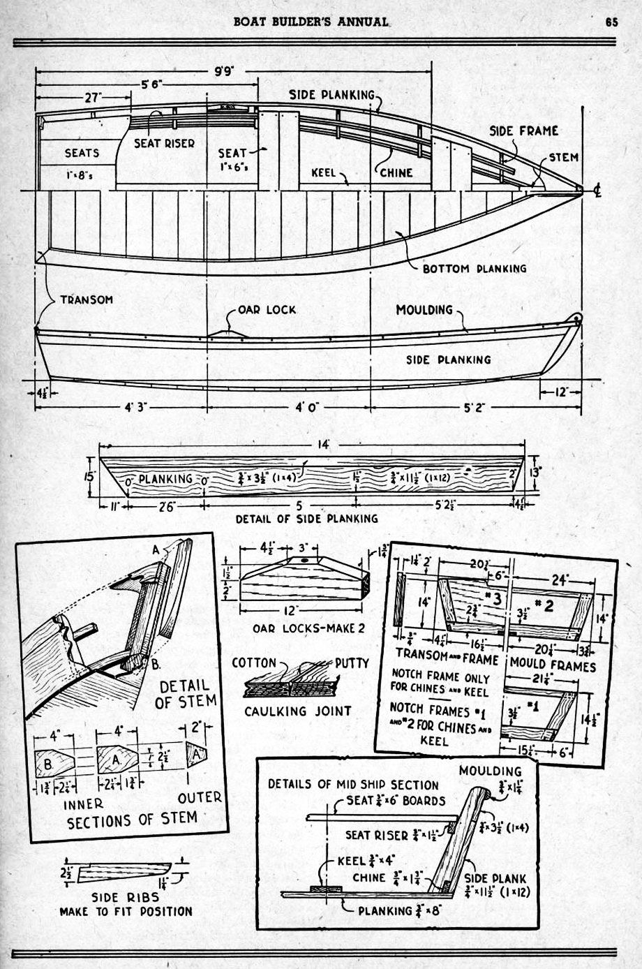 Free Boat Building Plans The White Duck is a 14 feet, universal flat ...